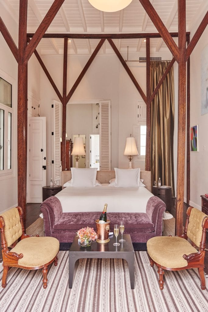 Interior of Bedroom Details Hotel B Peru
