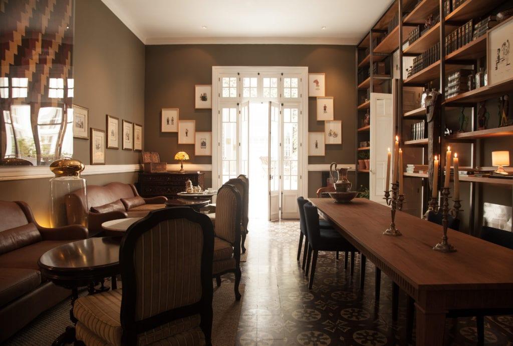 Library Biblioteca Lounge Interior Restaurant Peru