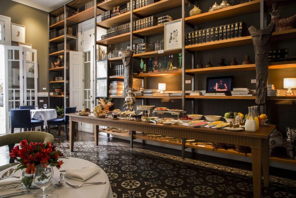 Hotel B Lounge Restaurant Bar Interior Peru