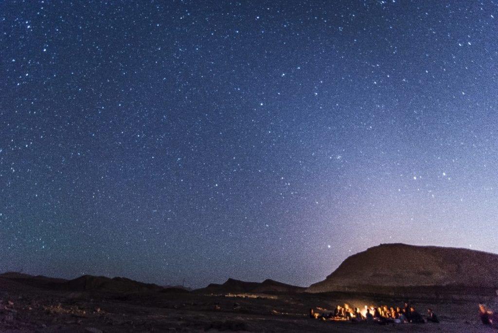 Stars over Israel
