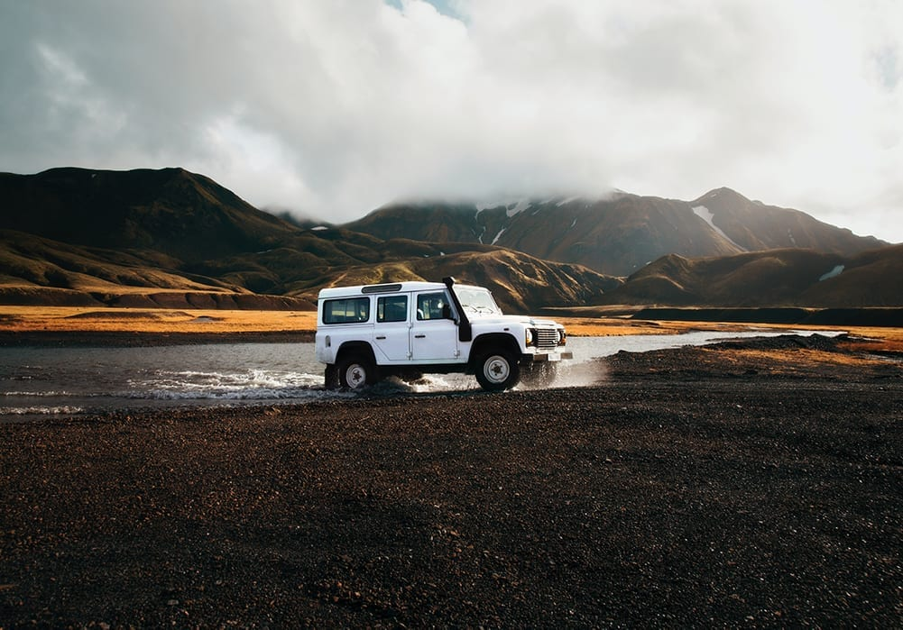 Iceland off road driving experience