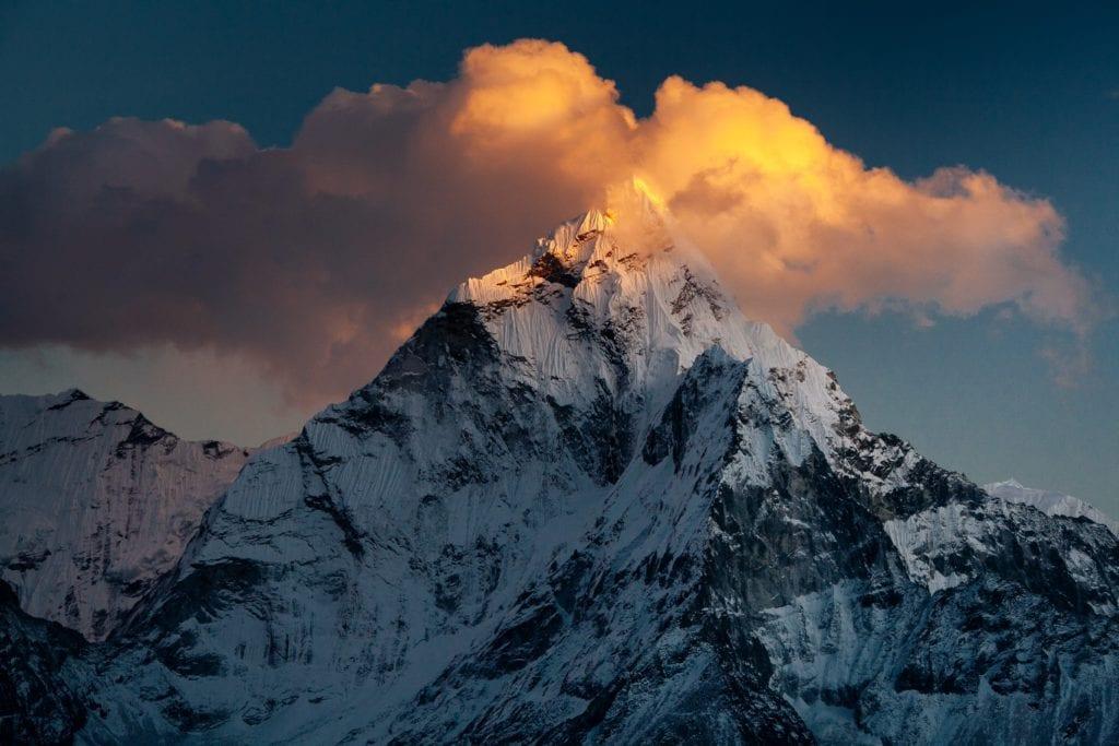 India Himalayas Sunrise
