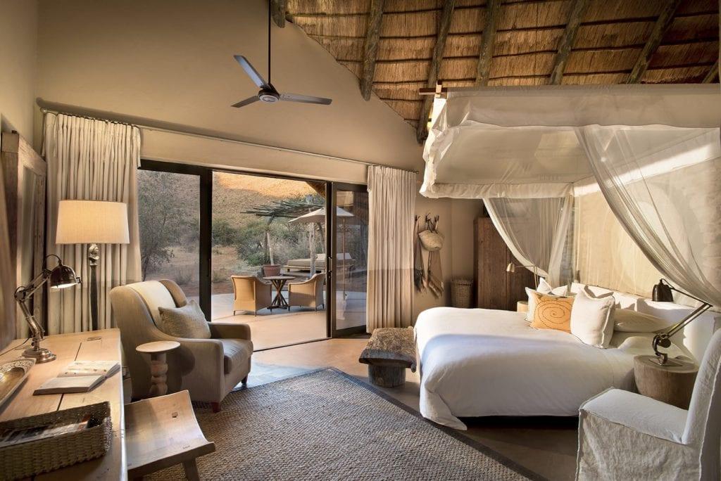 Interior of Room at Tswalu Kalahari Reserve South Africa
