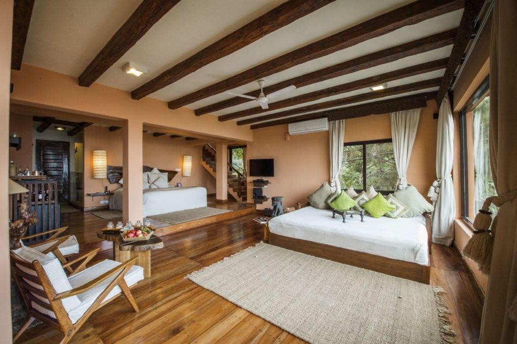 Interior of Executive Suite at Dwarikas Resort in Nepal