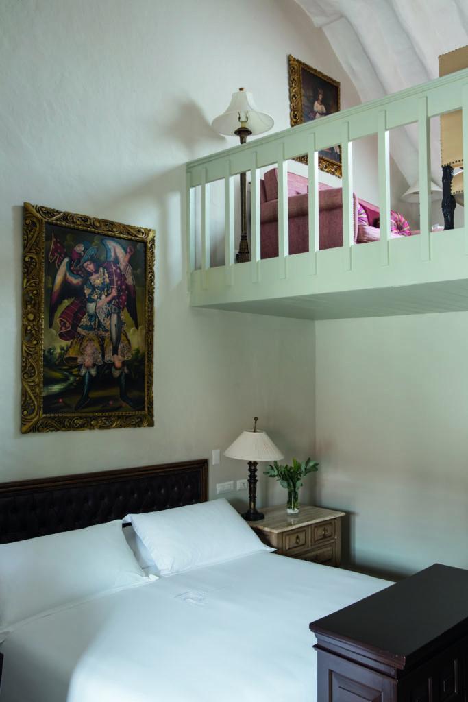 Interior of Room at Belmond Hotel Monasterio Peru
