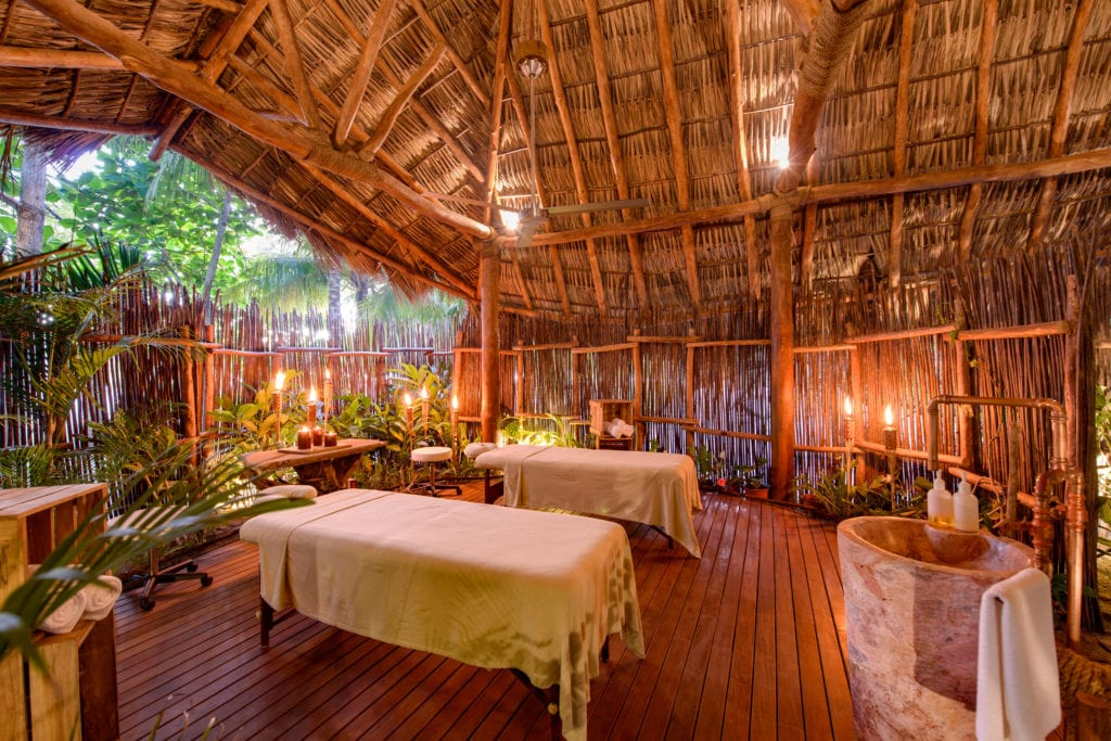 Interior of Spa at Morgans Rock in Nicaragua