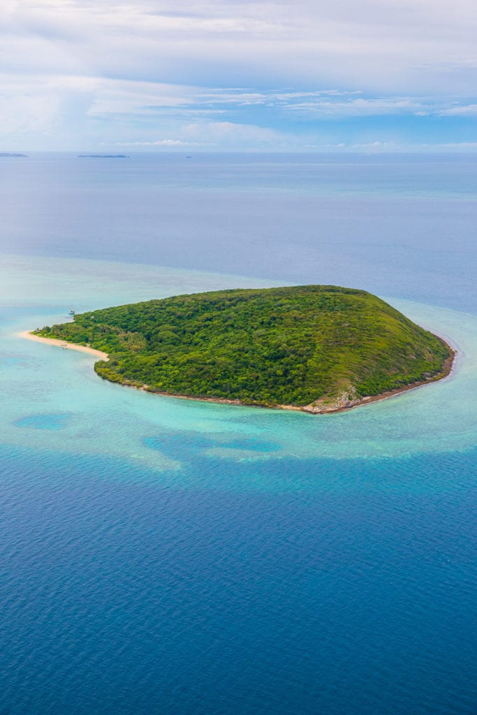 Island View of Haggerstone Island in Australia