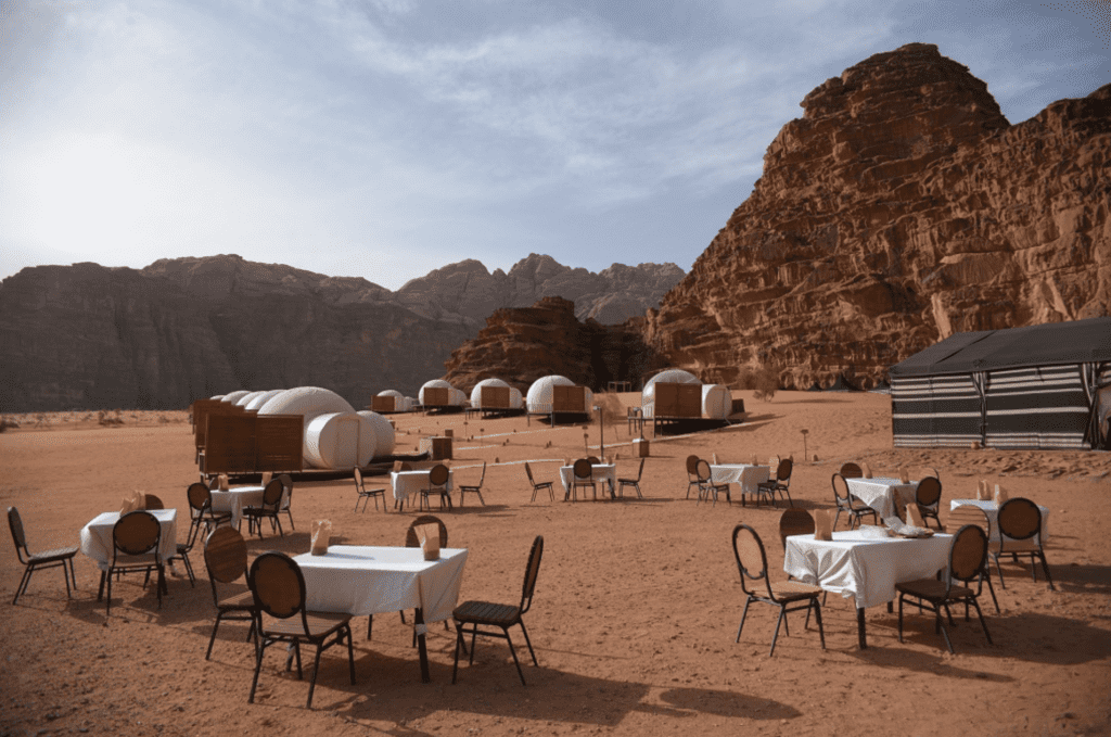 Jordan Wadi Rum Dining