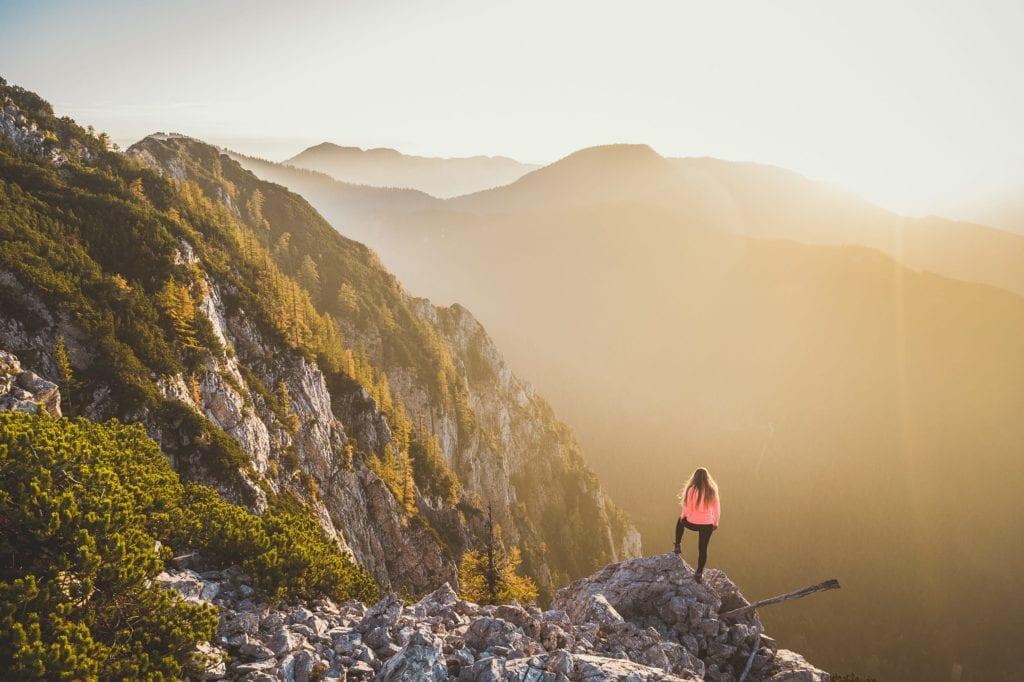 Slovenia view from Vila Planinka