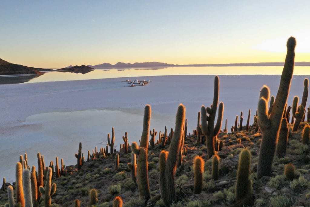Aerial Views at Kachi Lodge in Bolivia