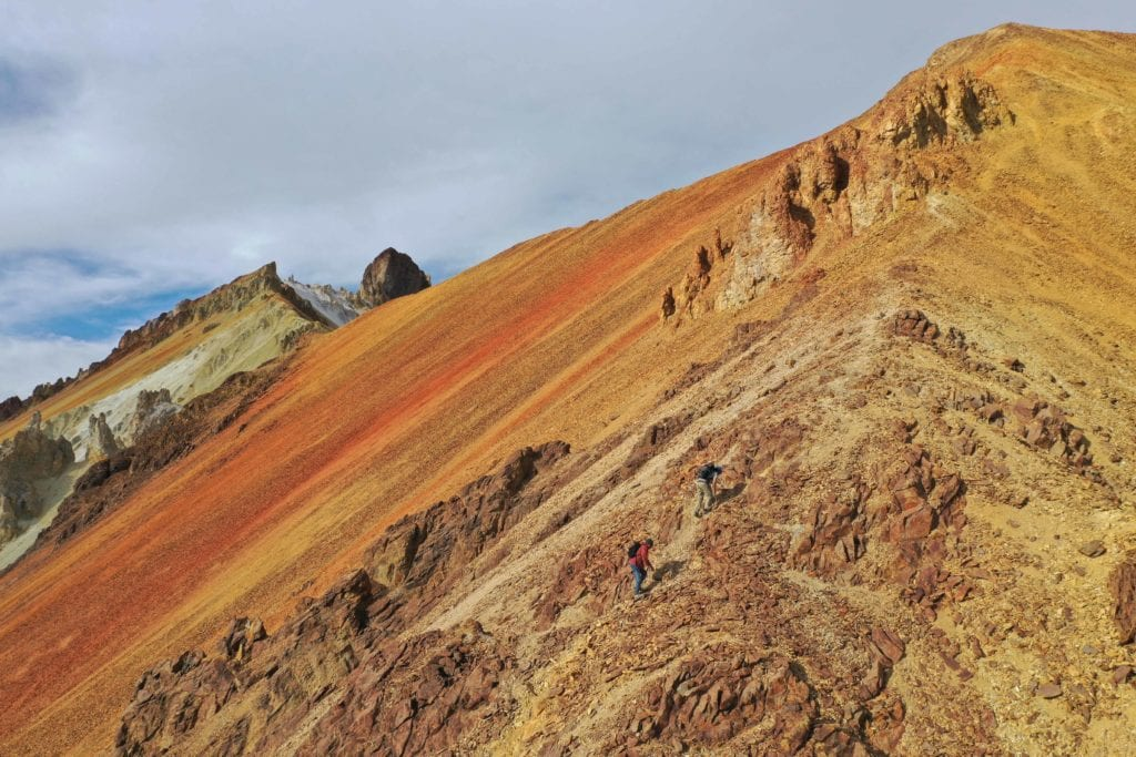 Hiking from Kachilodge in Bolivia