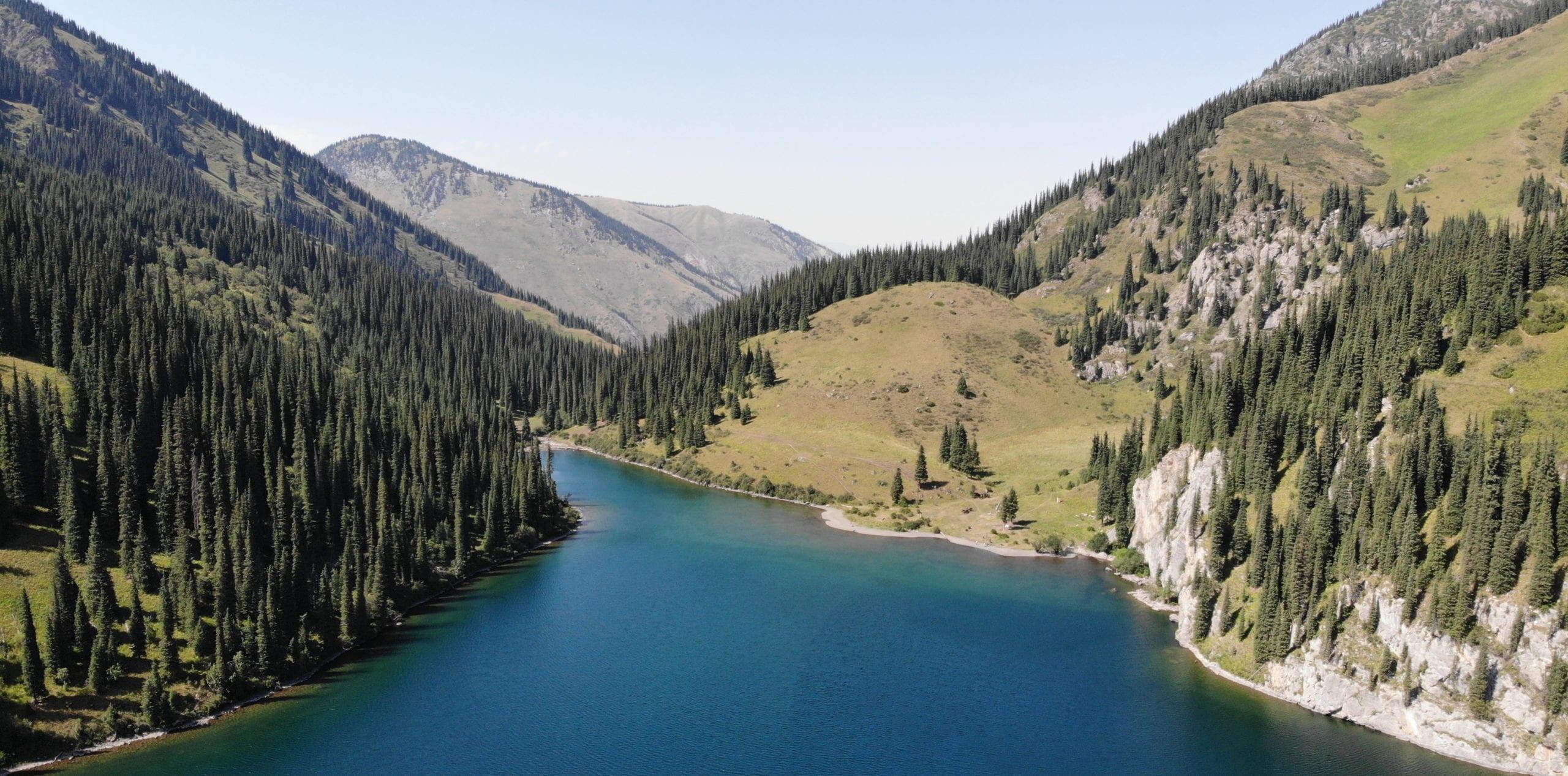 Kazak lake
