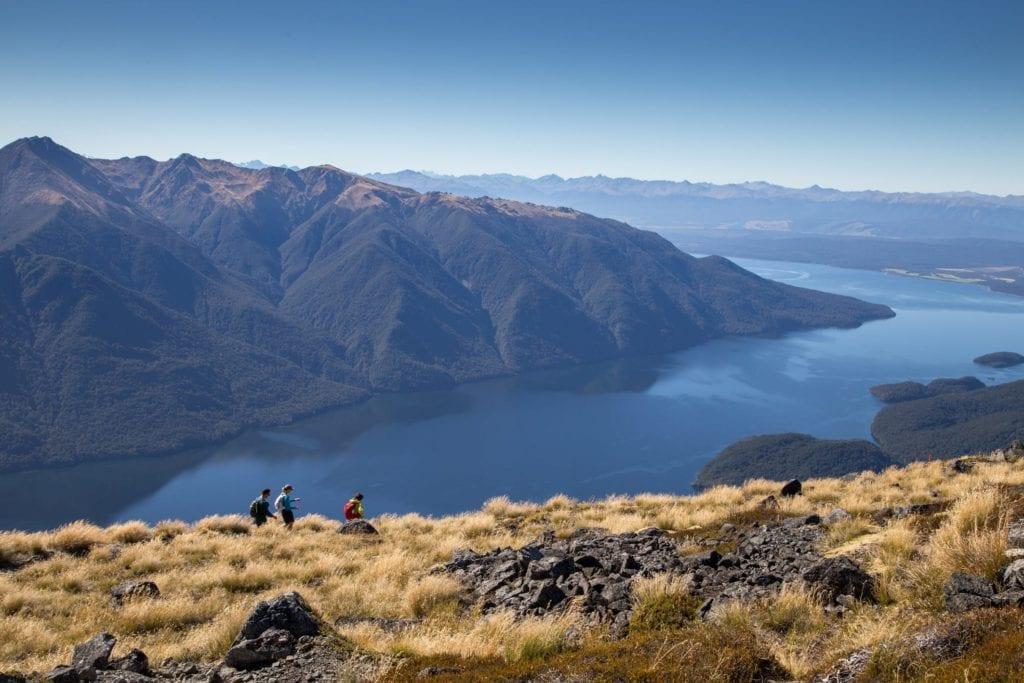 Kepler Terrace at Lake Te Anau New Zealand