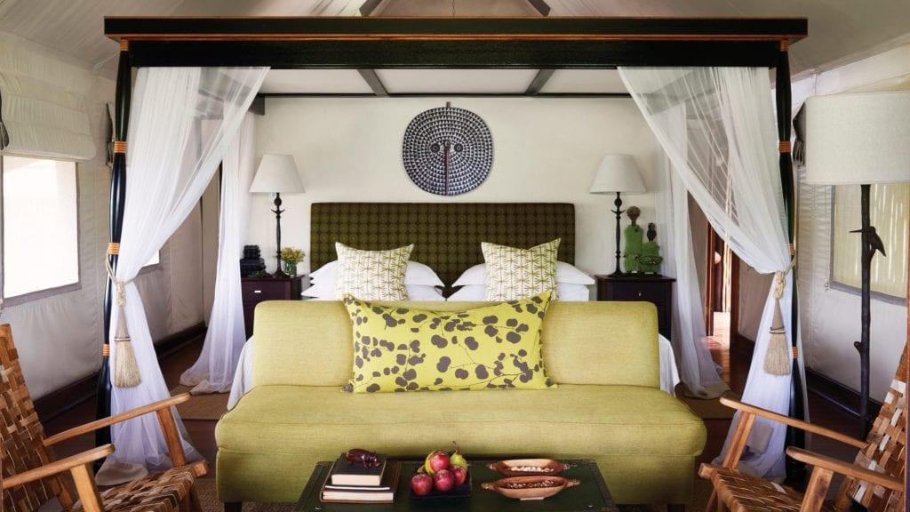 Bedroom at Khawi Lodge