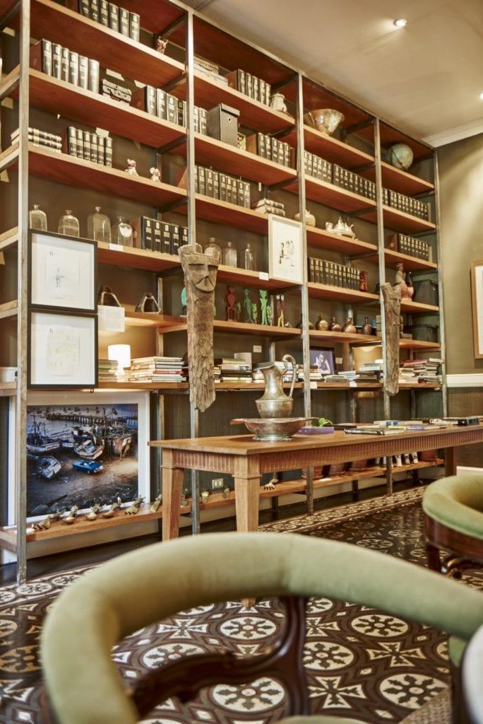 Library and Biblioteca Lounge at Hotel B Peru