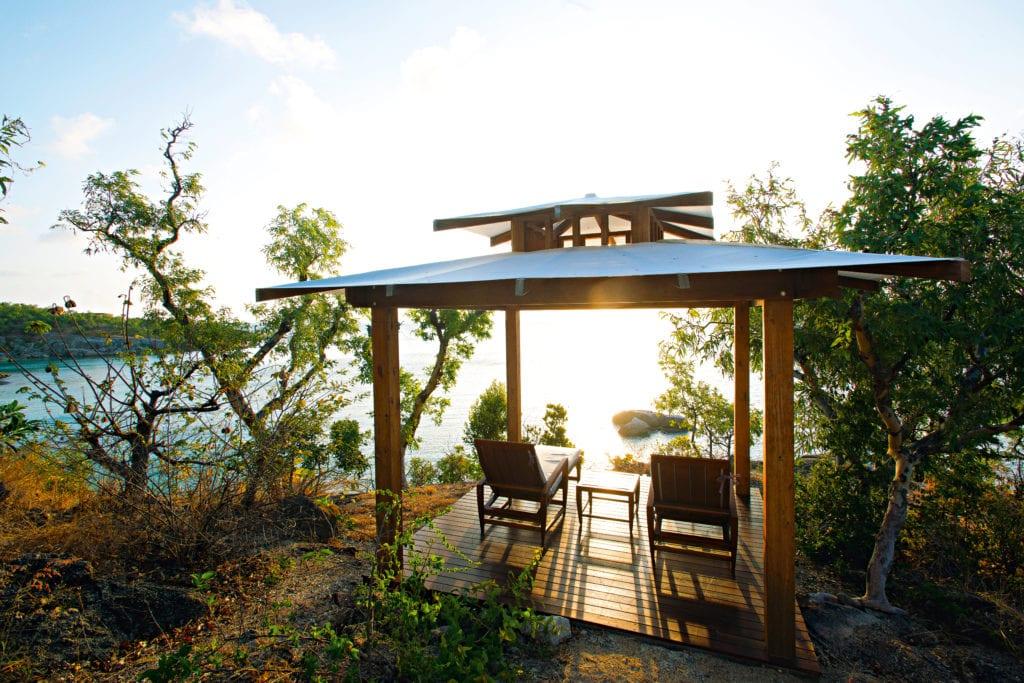 Lizard Island Pavilion Outdoor Lounge Area Australia