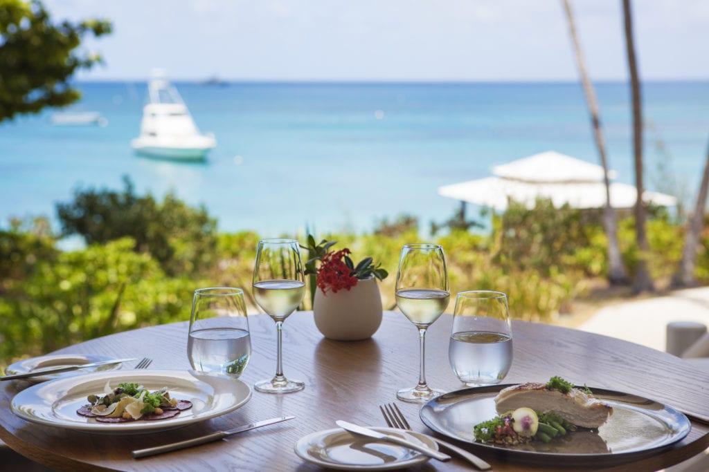 Lizard Island Restaurant Food and View Australia