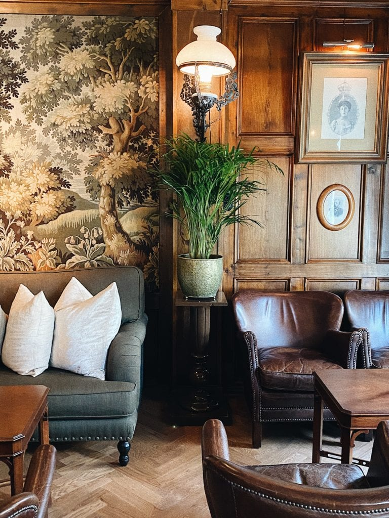 Lounge Area at Hotel Union Oye