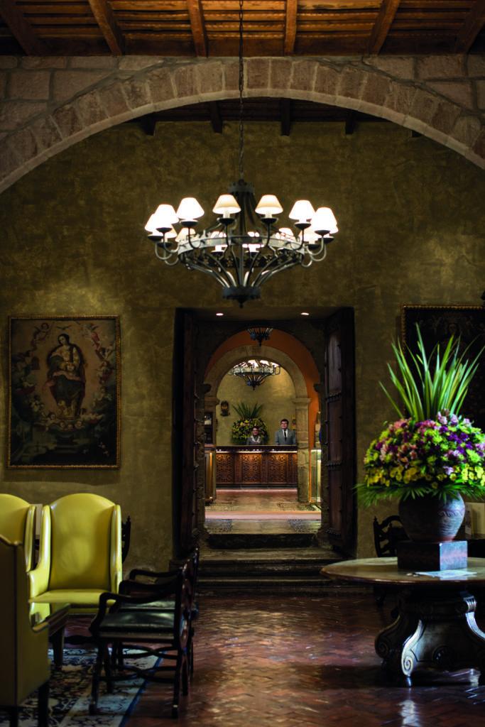 Interior of Belmond Hotel Monasterio Peru