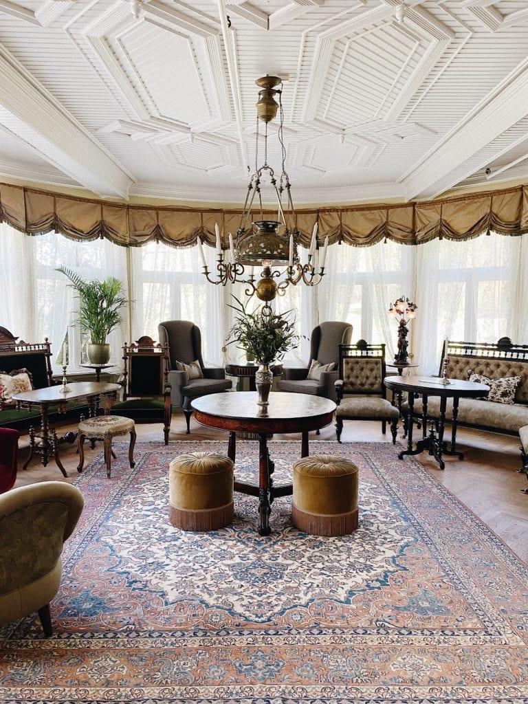 Lounge at Hotel Union Oye Norway