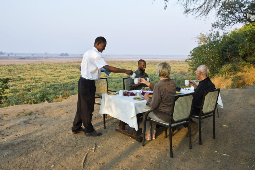 Lunch at Tented Camp