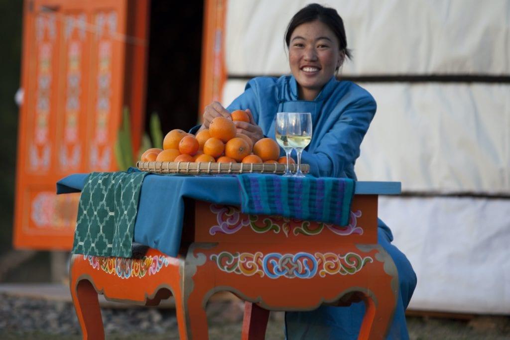 Mandala Mongolia Local Girl