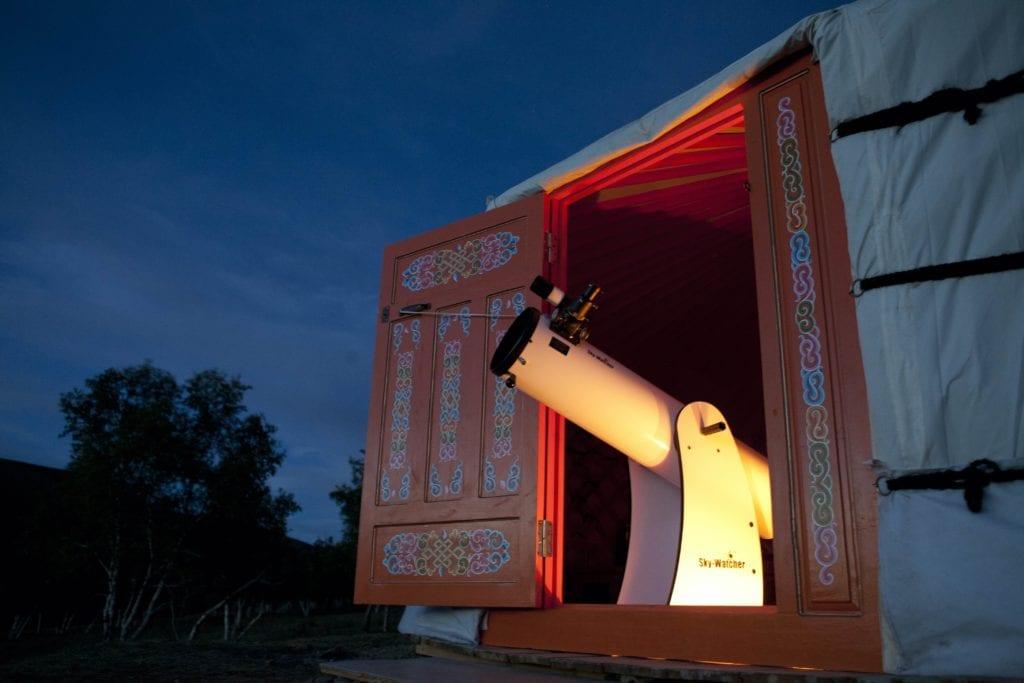 Mandala Mongolia Exteriors Telescope