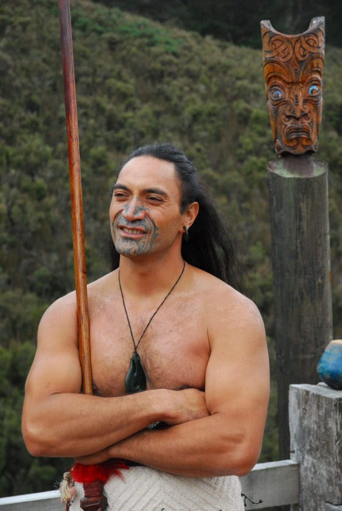 Maori tribe New Zealand