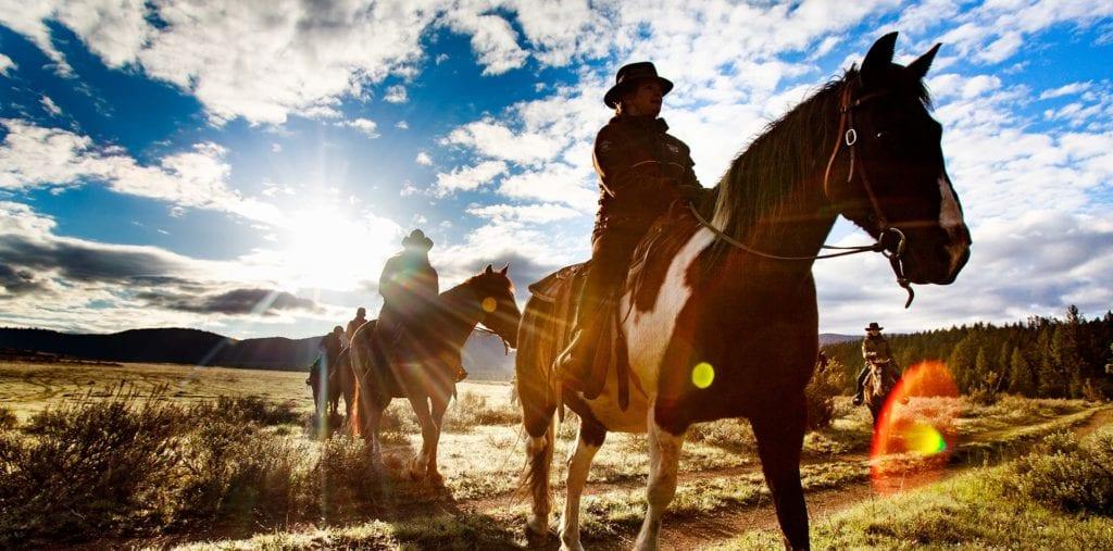 Montana USA Horse-riding