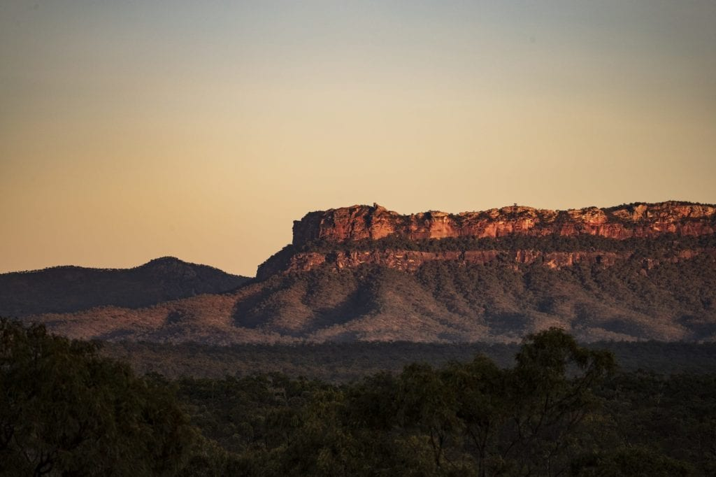 Mount Mulligan Escarpment in Australia