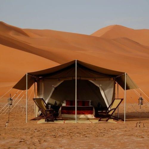 Desert Camping Tent in Oman