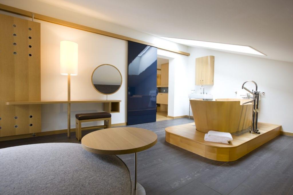 Double Deluxe Room The Omnia Switzerland