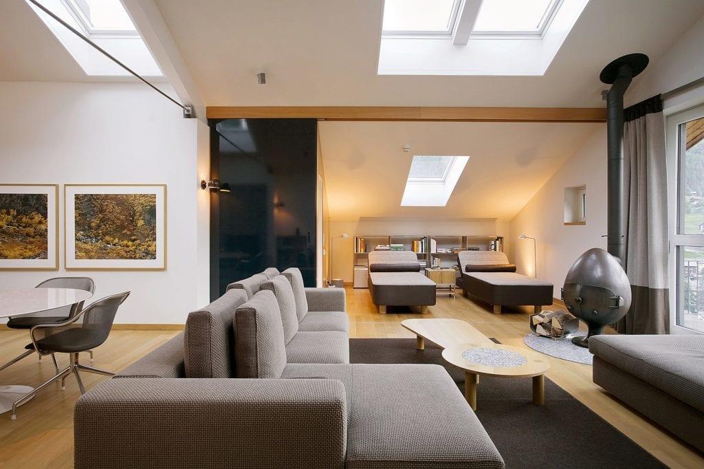 The Omnia Roof suite, Swiss alps, Switzerland