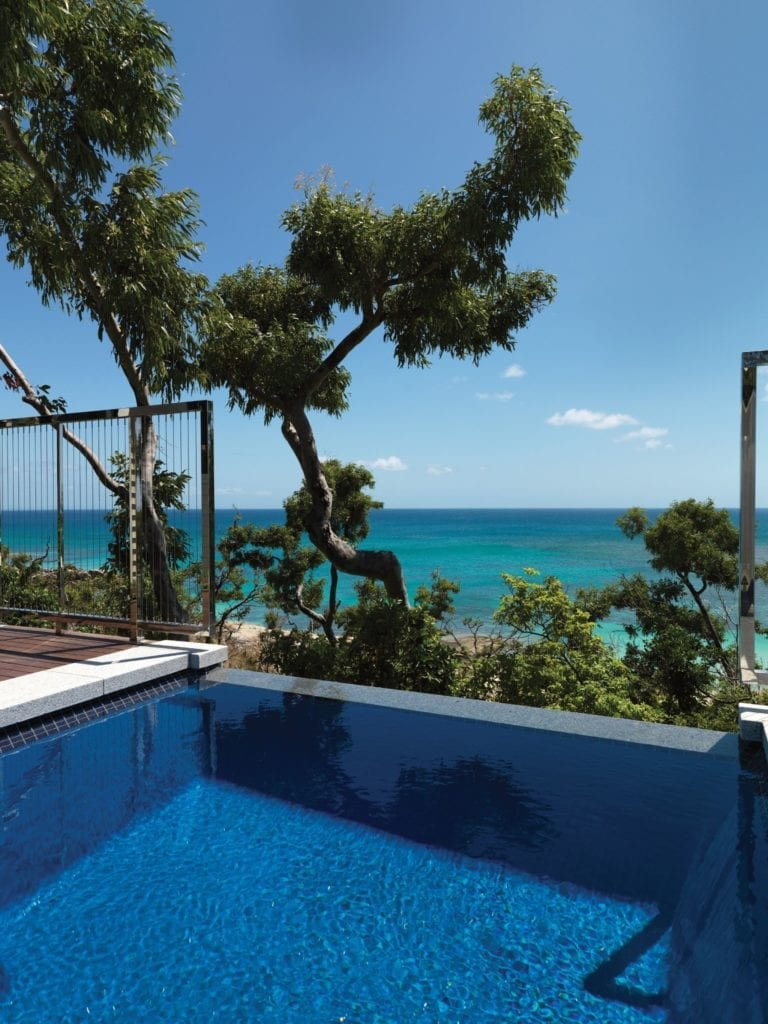 Ocean View Villa Plunge Pool at Lizard Island Australia