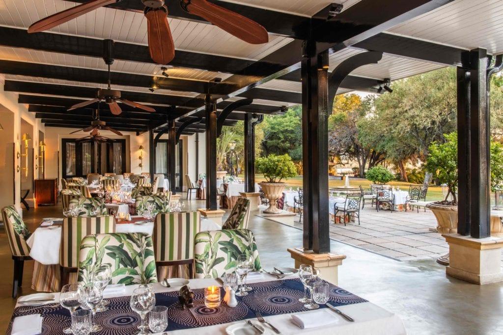 Old Drift Restaurant The Royal Livingstone Hotel Anantara