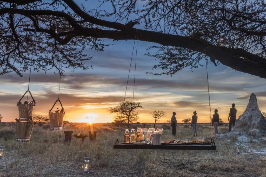 Onguma Lodge Sundowner Namibia