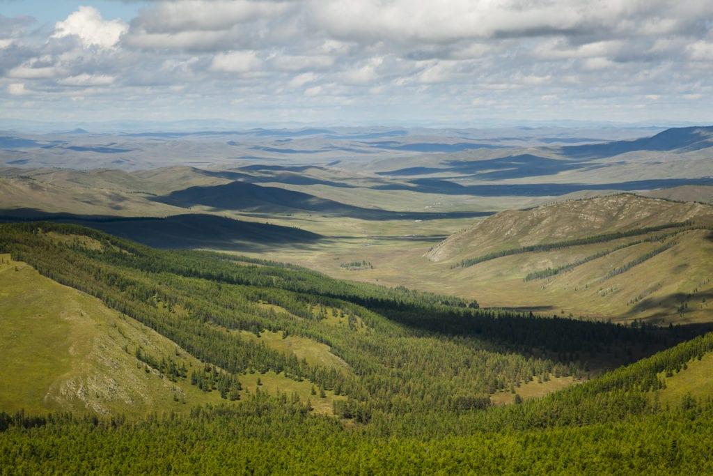 Panoramic Mongolia