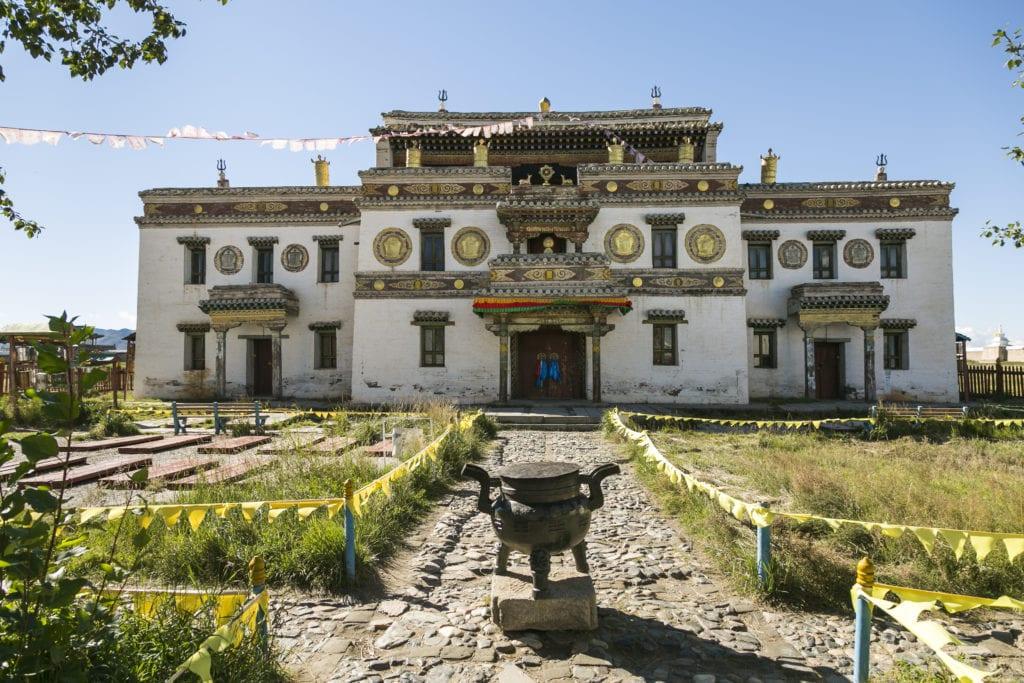 Mongolia Monastery