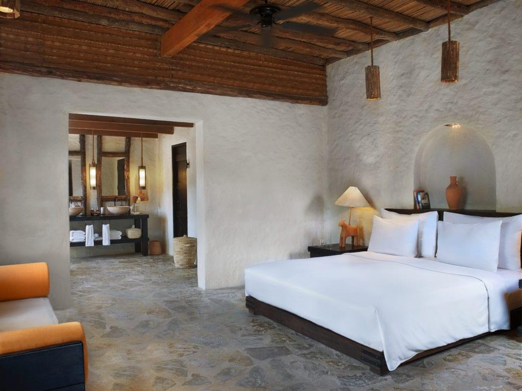 Pool Villa interior Six Senses Zighy Bay Oman