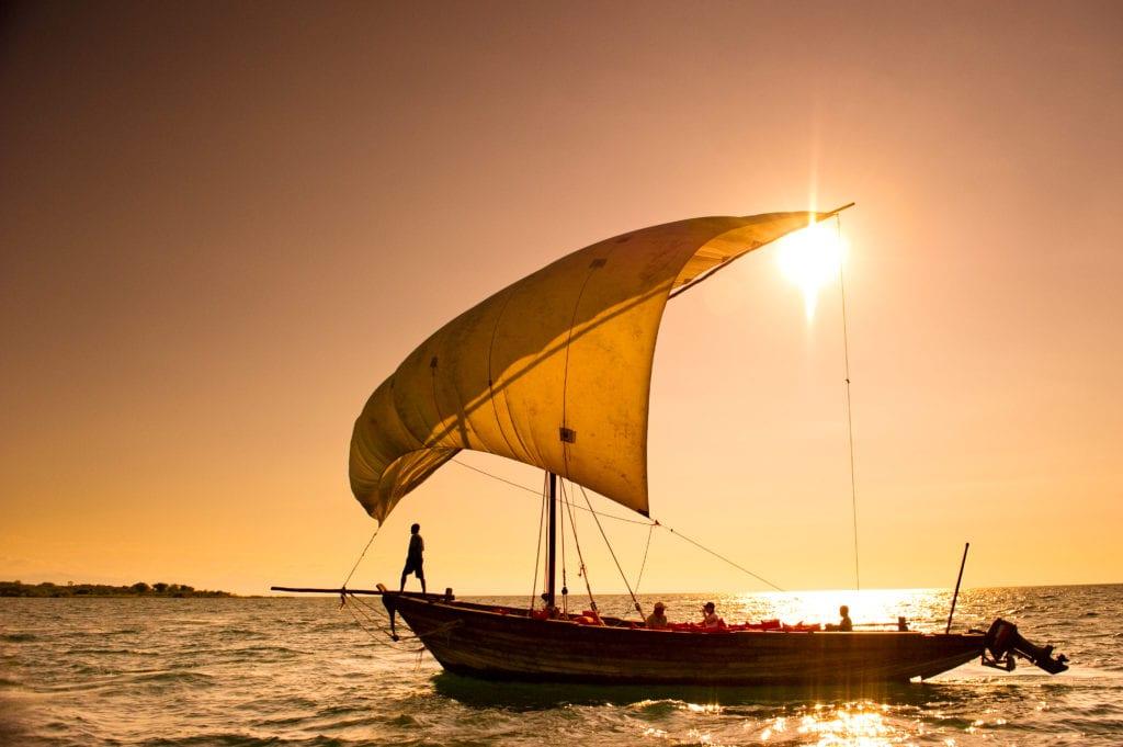 Pumulani Boat Experience Sundowner Malawi
