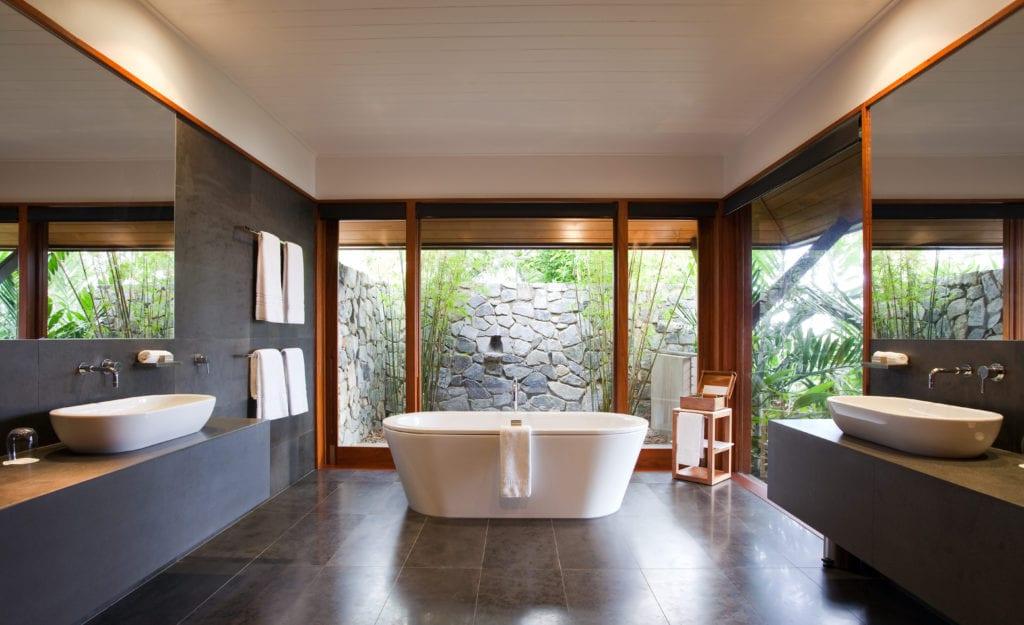 Windward Interior of Bath Qualia Whitsundays Australia