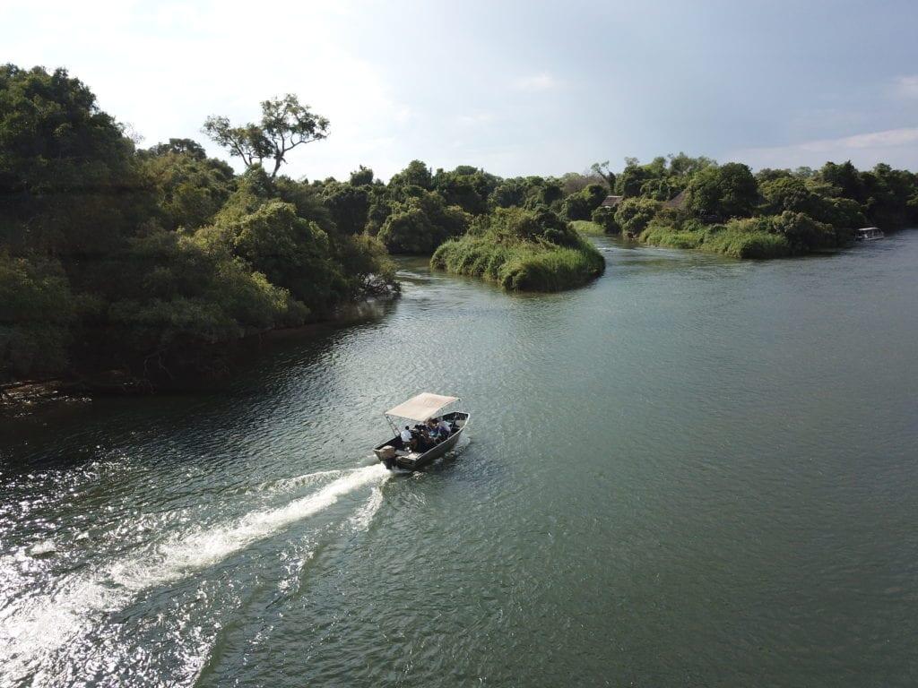 Boat Cruising the Gorge