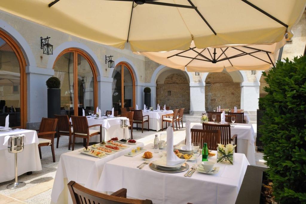 Restaurant at Hotel Grad Otocec