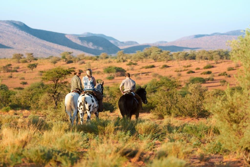 Riding Safari Tswalu Kalahari Reserve South Africa