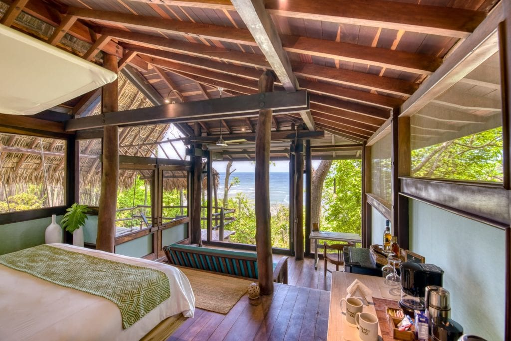 Room at Morgans Rock in Nicaragua