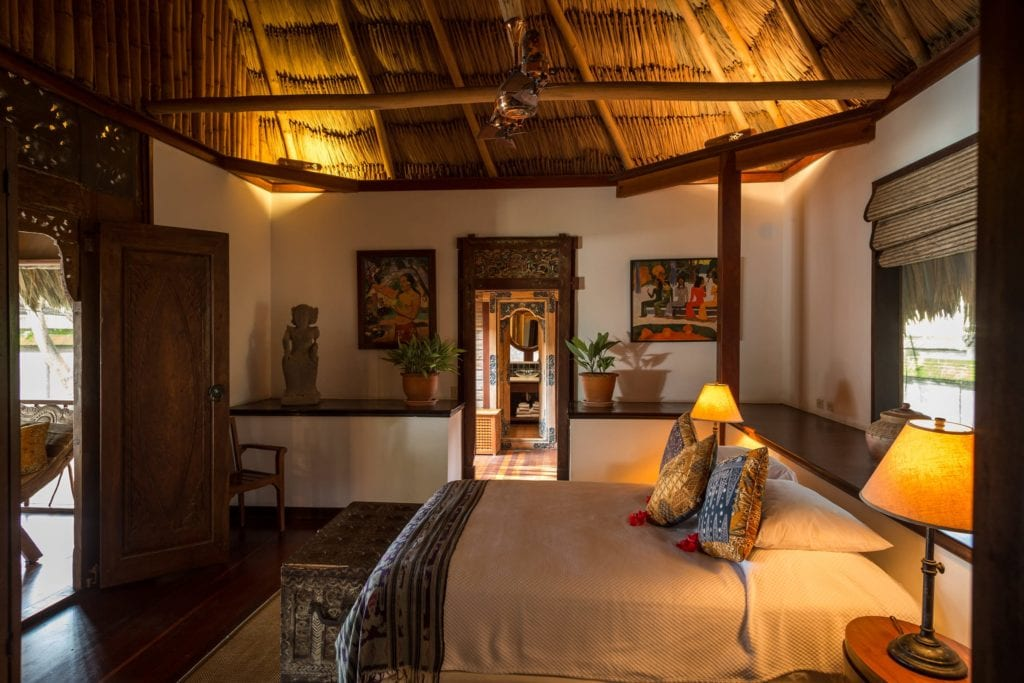 Room Interior at Turtle Inn Belize