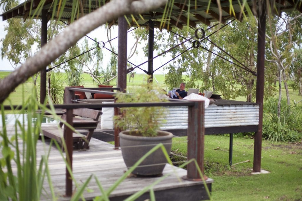 Safari Lodge Deck at Bamurru Plains Australia