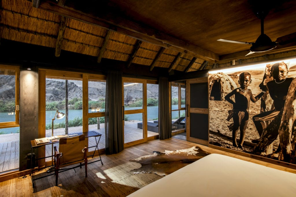 Room at Serra Cafema Namibia