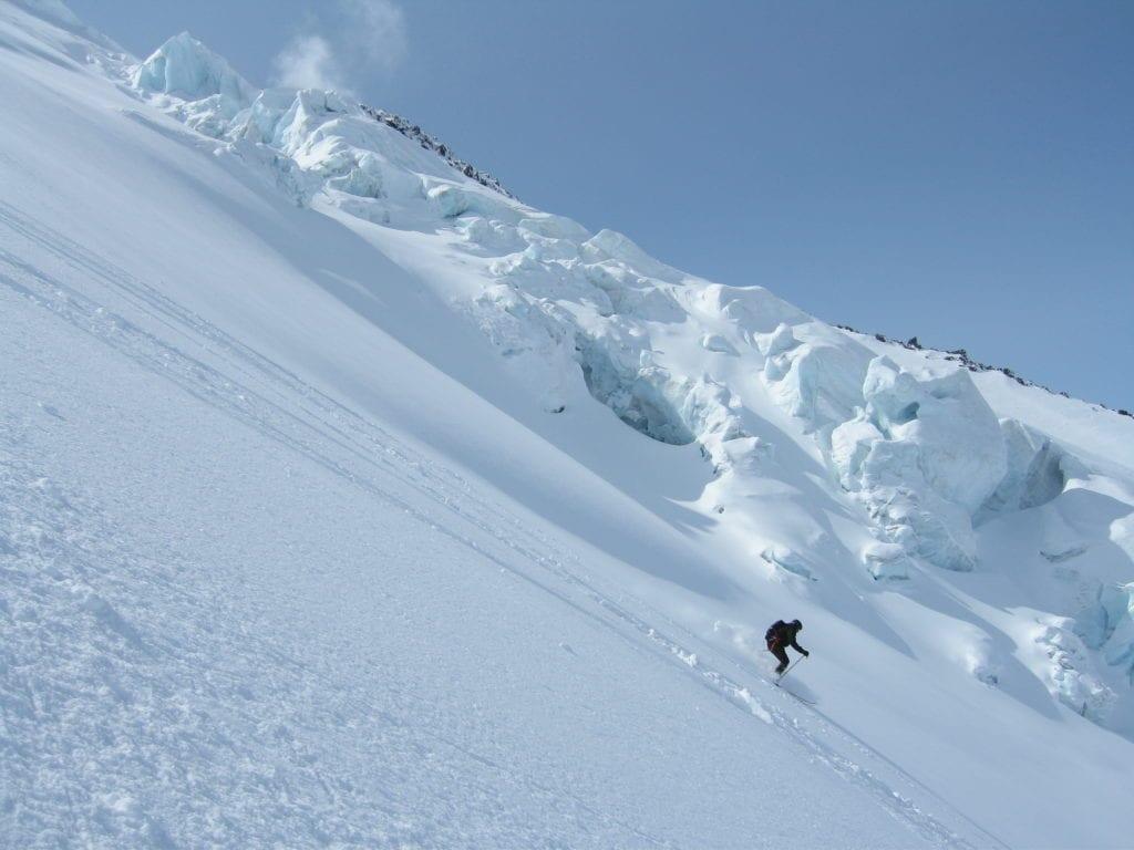 Skiing the Active Volcanoes of The Kamchatka Peninsula Russia
