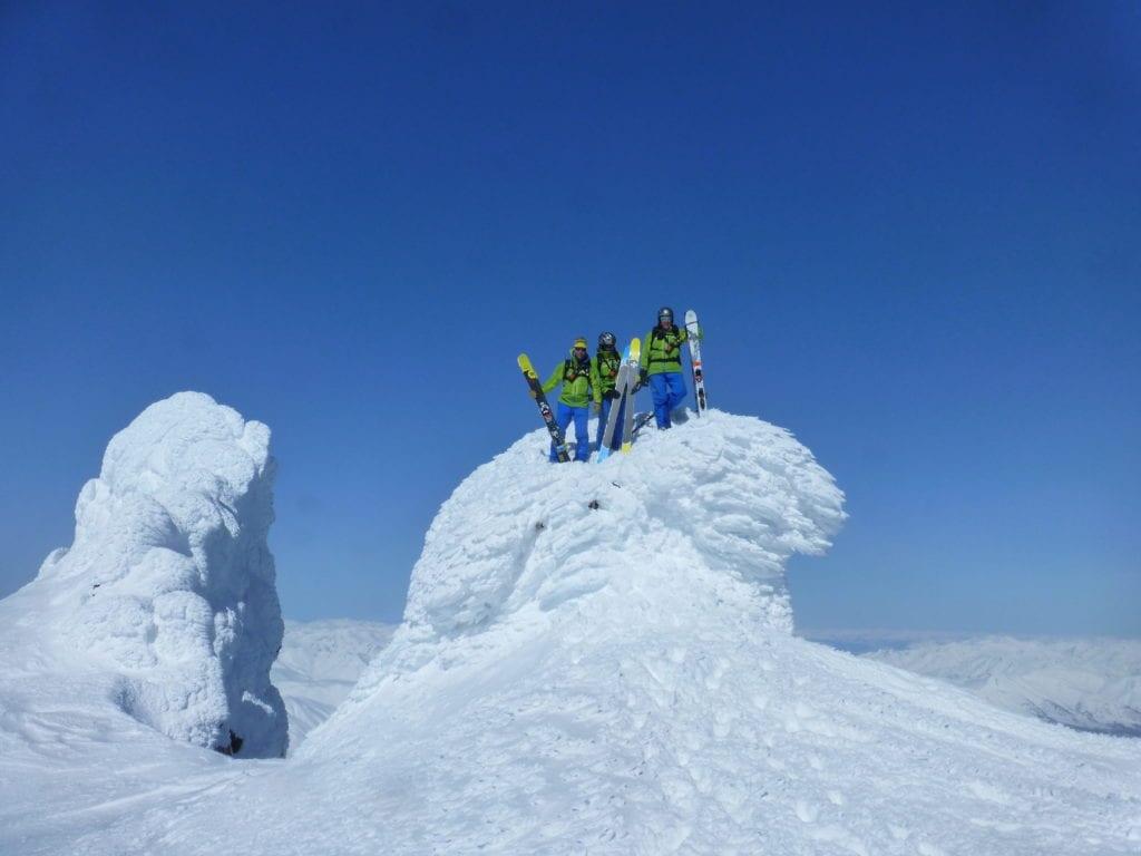 Skiing the Active Volcanoes of The Kamchatka Peninsula